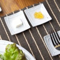 フランス 角豆皿 使用例