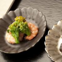 イタリア 菊割小皿 使用例