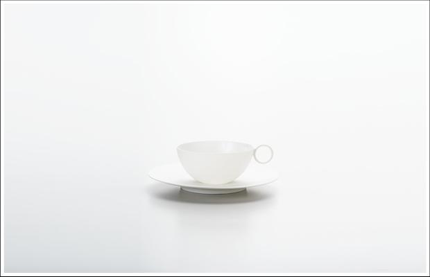 エッグシェル ティーC/S White