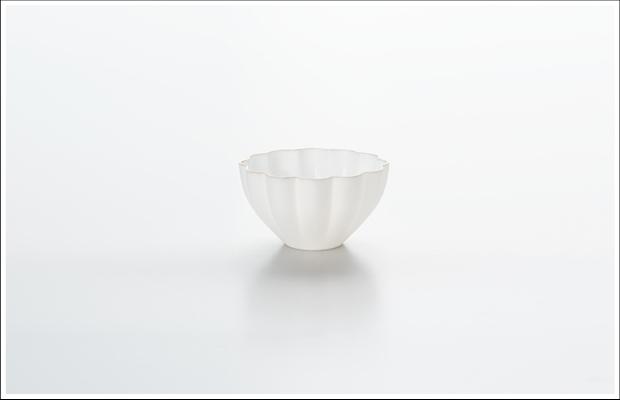 エッグシェル デザートカップ 花割