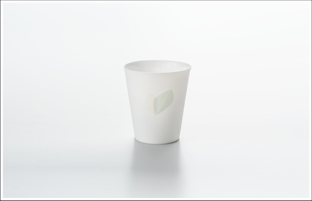 エッグシェル フリーカップ リーフA Green