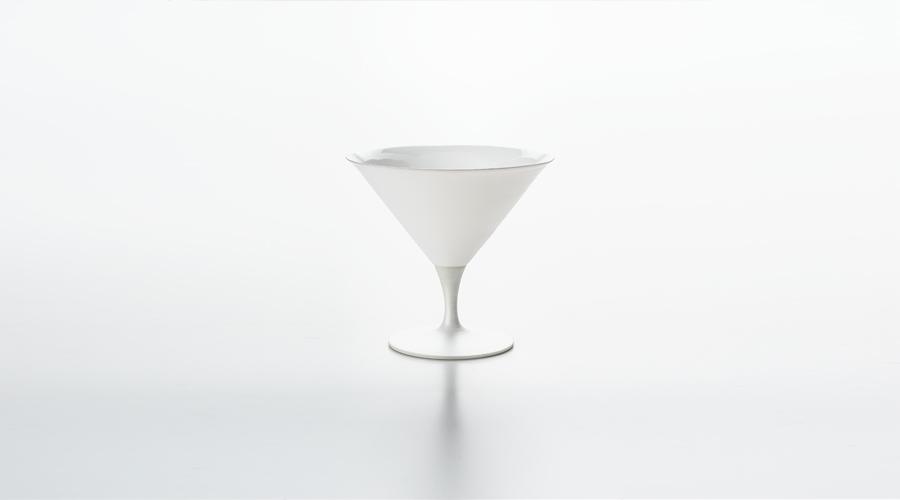 エッグシェル シャンパン クープ