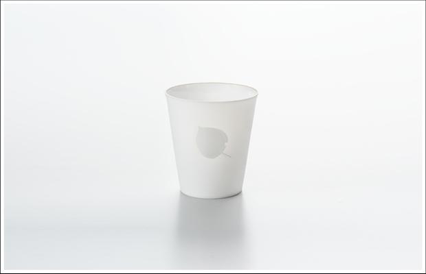 エッグシェル フリーカップ リーフB Silver