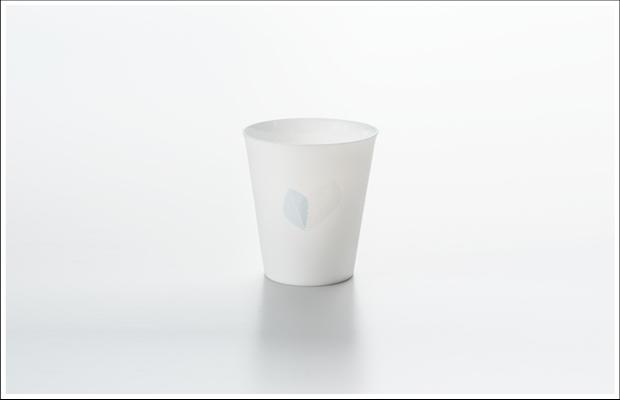 エッグシェル フリーカップ リーフA Silver