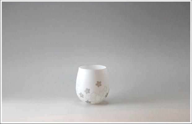 エッグシェル Kaori L 桜 Silver