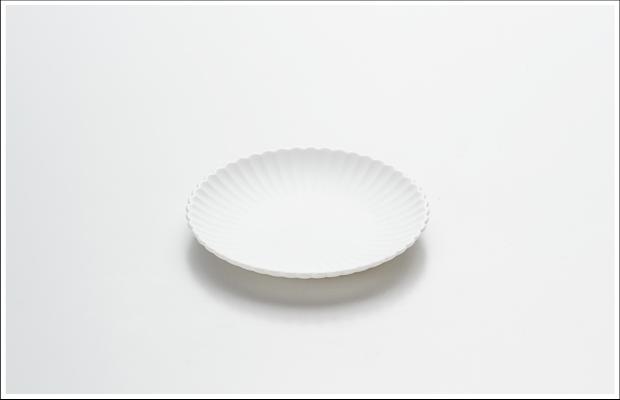 エッグシェル 菊割 小皿