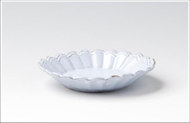 フランス 菊割小皿