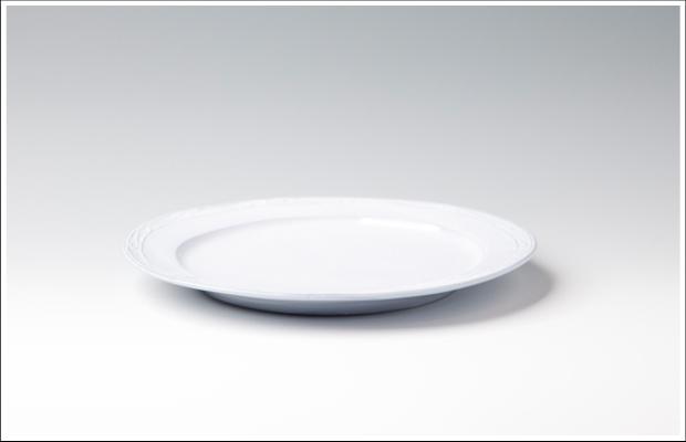 フランス リム丸皿