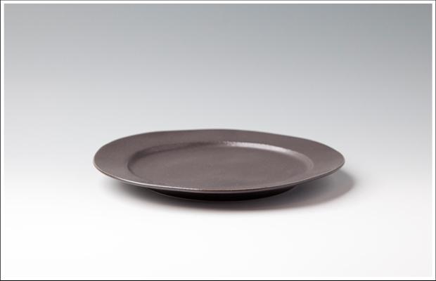 イタリア リム丸皿