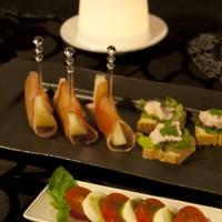 イタリア リム長角皿 使用例
