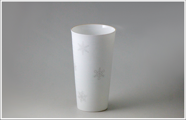 エッグシェル タンブラー M SNOW Silver