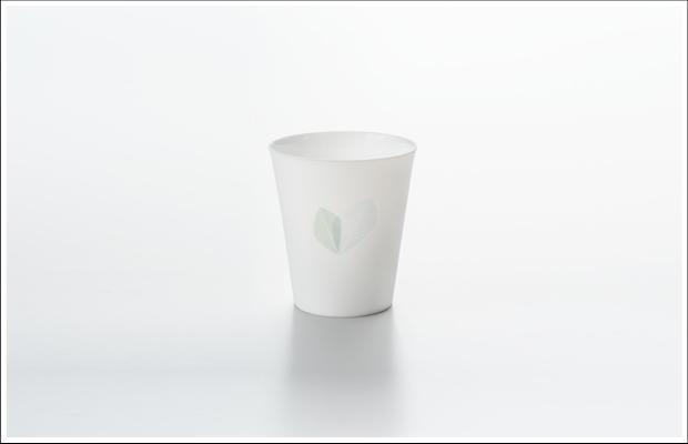 エッグシェル フリーカップ リーフA Blue