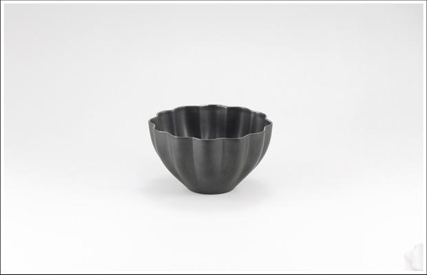 エッグシェル 花割デザートカップ Black