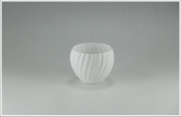 エッグシェル ねじり菊割デザートカップ