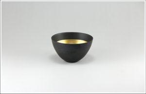 エッグシェル ボウルS Black/Gold