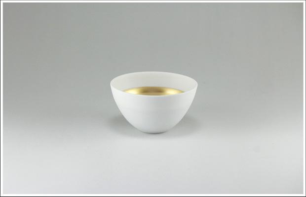 エッグシェル ボウルS White/Gold